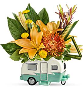 Camper  Floral Arrangement