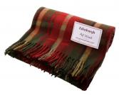 Canadian Dark Maple Wool Blanket 70