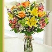 Canary Bouquet  Flower Arrangement