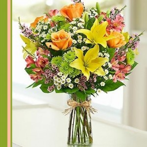 Canary Bouquet  Flower Arrangement in Brentwood Bay, BC | PETALS N BUDS BRENTWOOD BAY FLORIST