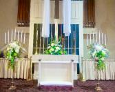 Candelabra at Church Ceremony