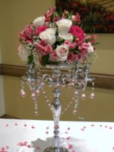 Candelabra Rental  from Enchanted Florist