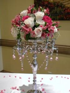 Candelabra Rental  from Enchanted Florist