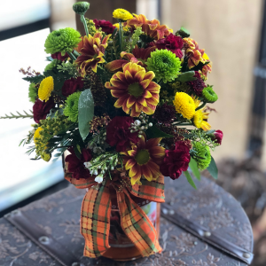 Candle Bouquet  Fall Farmhouse Collection  in Greeley, CO | ERICKSON'S FLOWERS