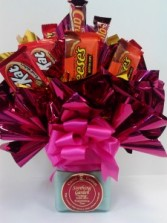Candle Candy Bouquet candy bouquet