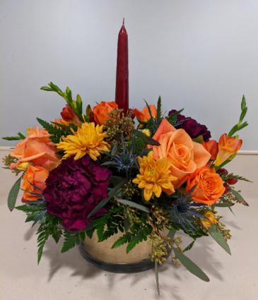 Candle Centerpiece Arrangement