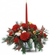 Candle Delight  Holiday Bouquet