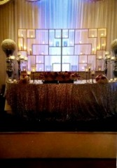 Candle Wall Set Wedding Flowers