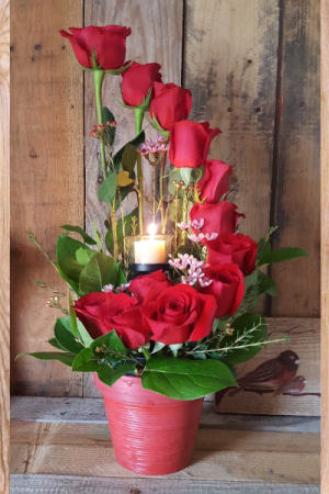 Candlelight and Roses Designers Special in Paris, KY | Chasing Lilies Floral