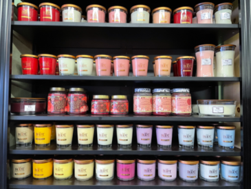 Candles-Assorted Fragrances, styles and sizes