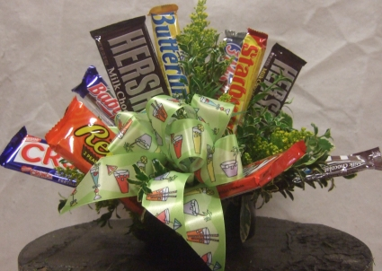 candy bar bouquet candy bar arrangment in bend or autry s 4