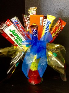 Candy Bar Bouquet  in Blaine, WA | BLAINE BOUQUETS