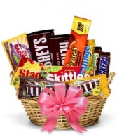 Candy Bar Gift Basket