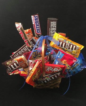 Candy Basket Gift Basket
