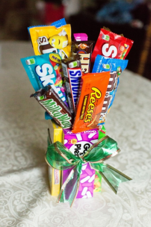 Candy Bouquet Arrangement
