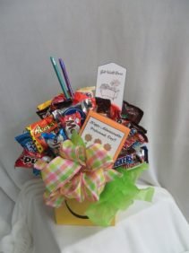 Candy Bouquet Assorted Candies and Chocolates