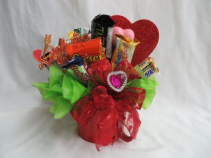 Candy Bouquet Assorted Candies Arranged in a Mug.
