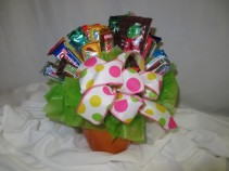 Candy Bouquet Assorted Candies Bouquet
