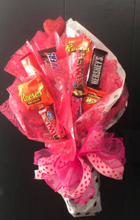 Candy Bouquet Gift item perishable