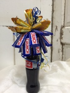 Candy Bouquet Snack Basket