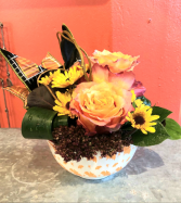 Candy Bowl Fresh Floral Design