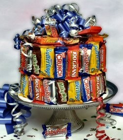 Candy Bar Cake Birthday Cake In Pembroke Ma Candy Jar And Designs