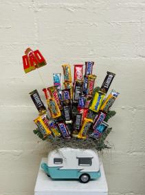 Candy Camper  Candy Arrangement