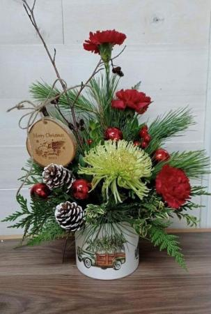 We Wish You a Merry Christmas 2020  Fresh Christmas arrangement