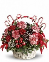 Candy Cane Lane Christmas Arrangement