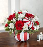 Candy Cane Ornament Fresh Christmas Arrangement