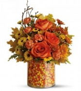EXCLUSIVELY at Flowers Today Florist Candy Corn Surprise