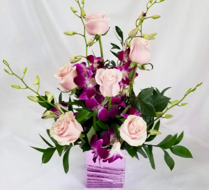 Cotton Candy  Floral arrangement in Coral Springs, FL | Hearts & Flowers of Coral Springs