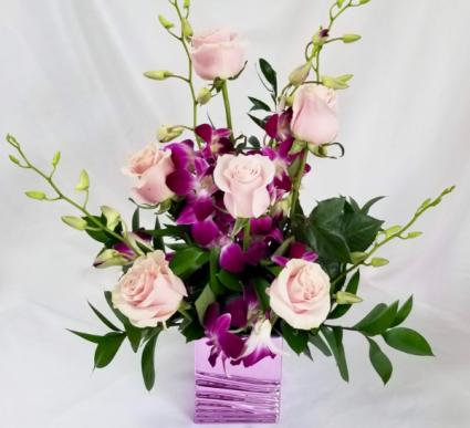 Cotton Candy  Floral arrangement