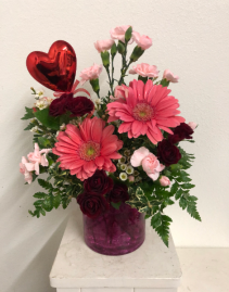 Candy Crush Vase arrangement