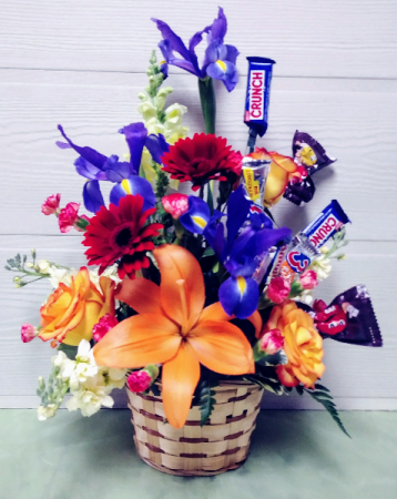 Candy & Flowers