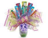 Candy Kit Arrangement Gift Basket