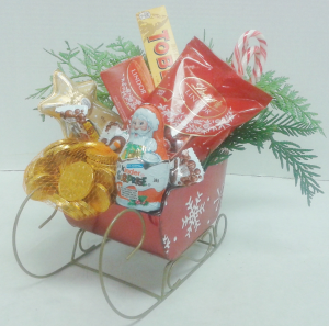 Candy Sleigh  in Tottenham, ON | TOTTENHAM FLOWERS & GIFTS