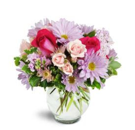 Candy Surprise Vase Arrangement