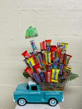 Candy Truck Candy Arrangement