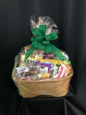 Candy/Snack Basket  in Huntsville, AL | Bishop's Flowers