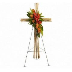 Cane Standing Cross   in Riverside, CA | The Flower Alley