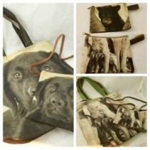 Canvas Animal Handbags & Pouches