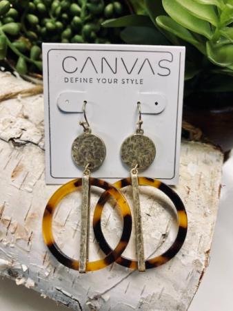 CANVAS Drop Earrings