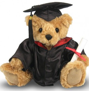 The Graduate Bear* SOLD OUT Plush Gift in Whitesboro, NY | KOWALSKI FLOWERS INC.