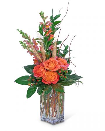 Captivating Coral Flower Arrangement