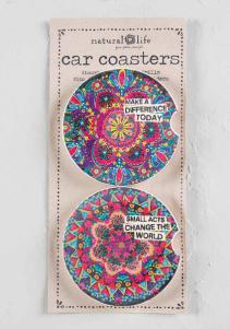 Car Coasters Natural Life®