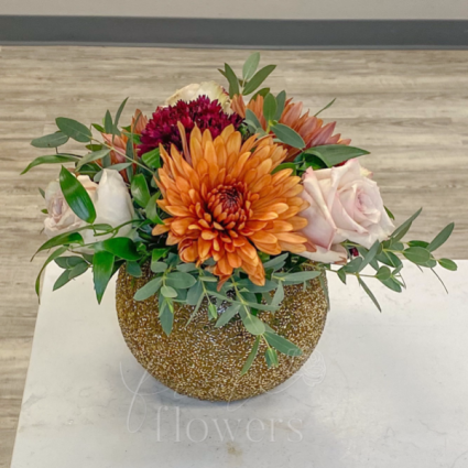 Caramel Apple Vase Arrangement