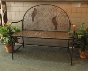 Cardinal Bench  in Huntingburg, IN | Gehlhausen's Flowers Gifts