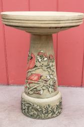 Cardinal Birdbath Giftware