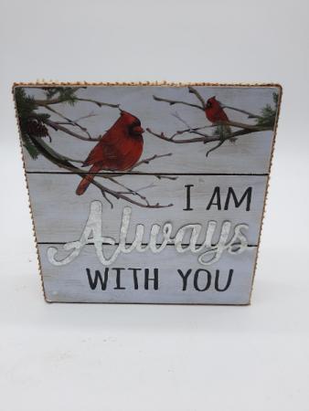 Cardinal Block Memorial Giftware